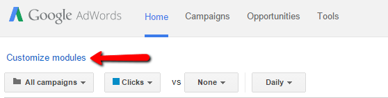 adwords-customize-modules